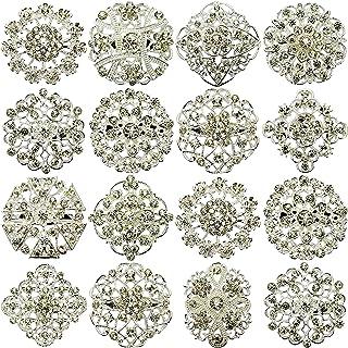 Nuevo 12 piezas MIX con diseño de PIN broches broche con forma de boda JOBLOT con una tira de brillantes Direct Hardware d...