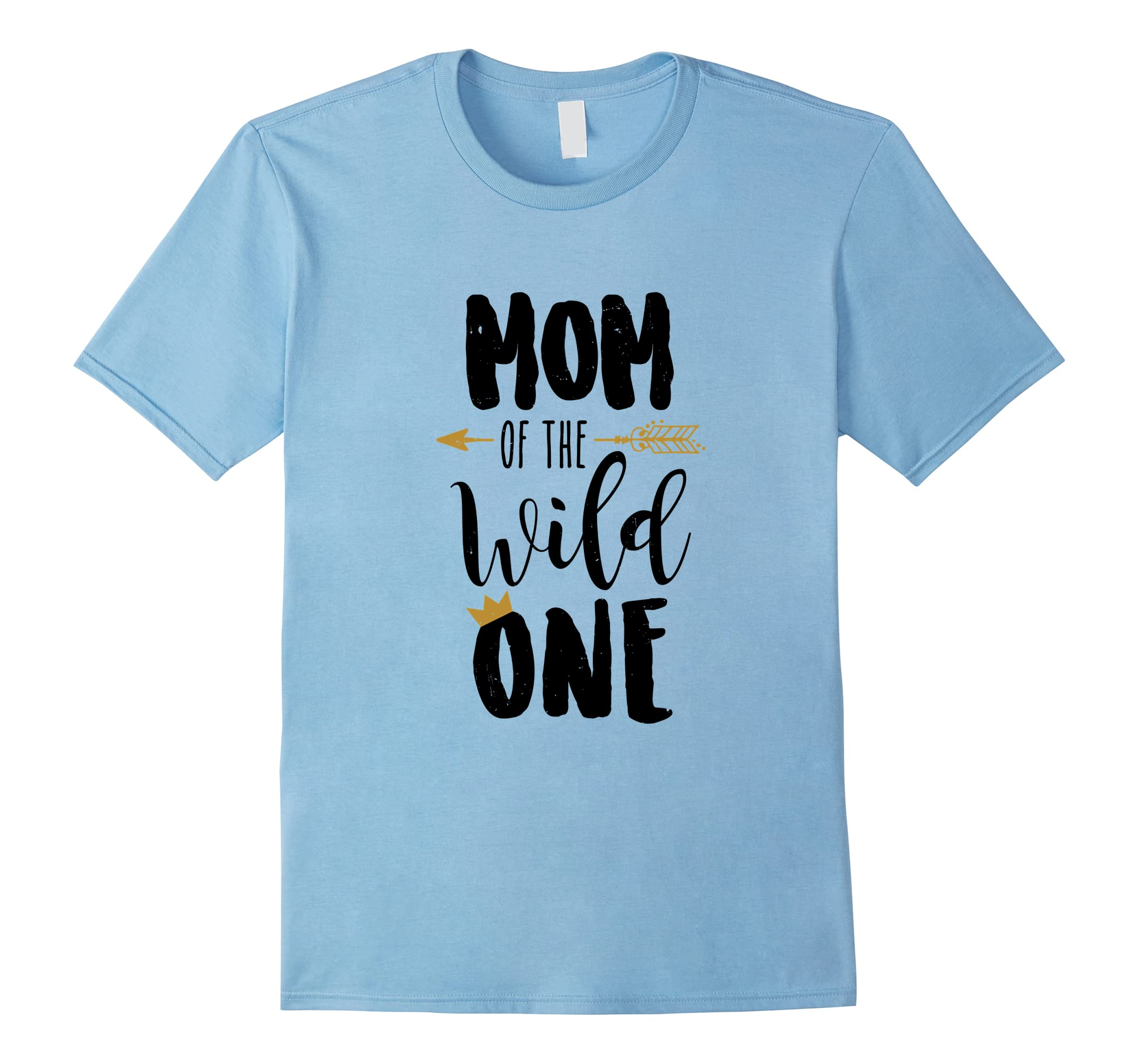 Mom Of The Wild One T Shirt For Babys First Birthday Party Ah My