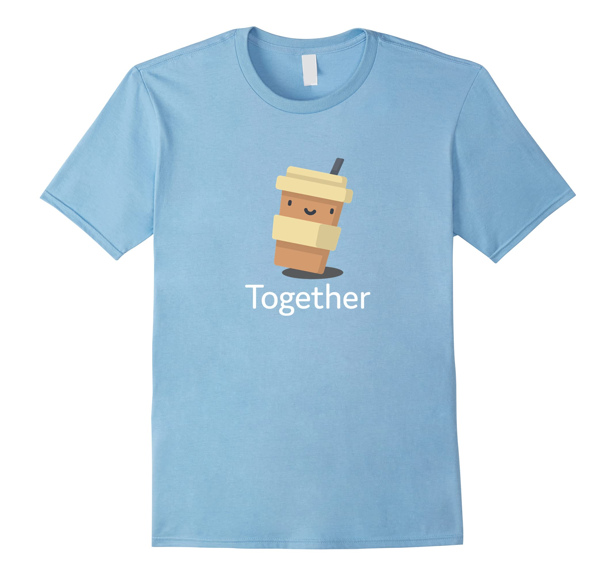 Better Together Coffee & Donut Couples T-Shirt-RT