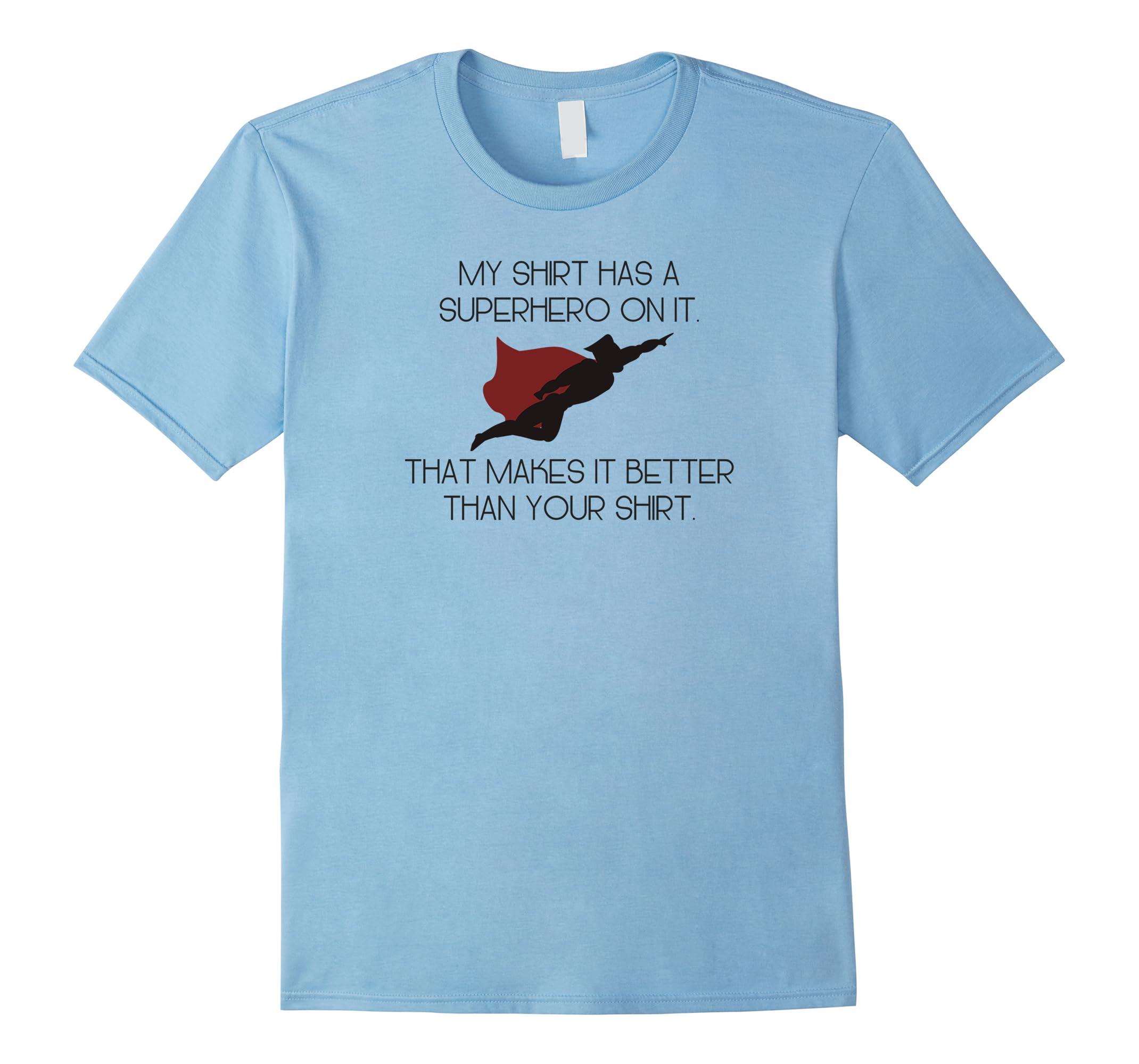 Superhero Shirt Apparel Gifts-Samdetee