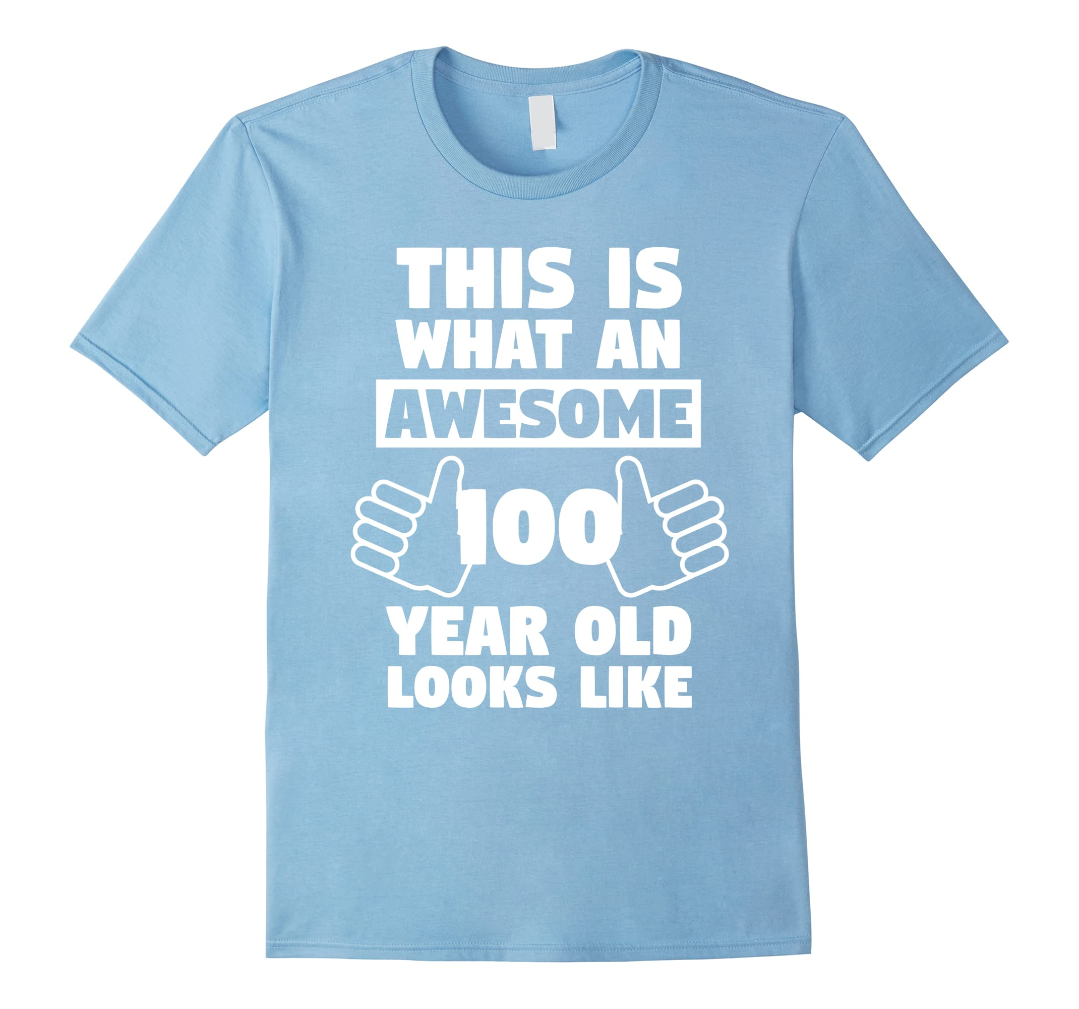 Awesome 100 Year Old Birthday Gift Fun 100th Shirt RT