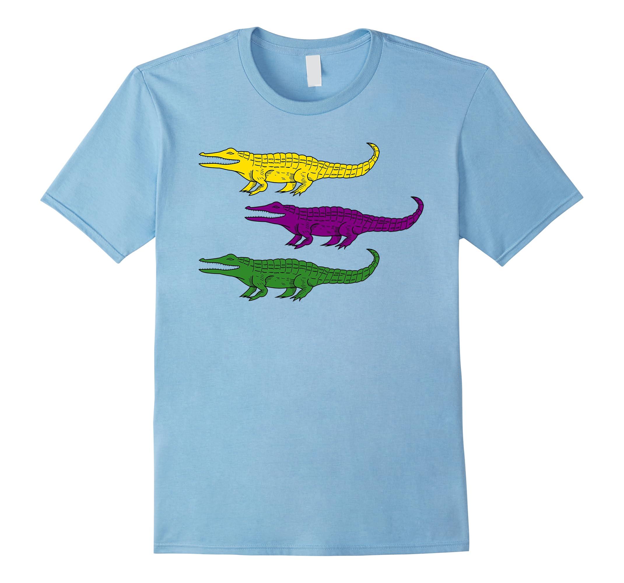 Mardi Gras Alligator Gators Crocodile T Shirt Ah My Shirt One Gift