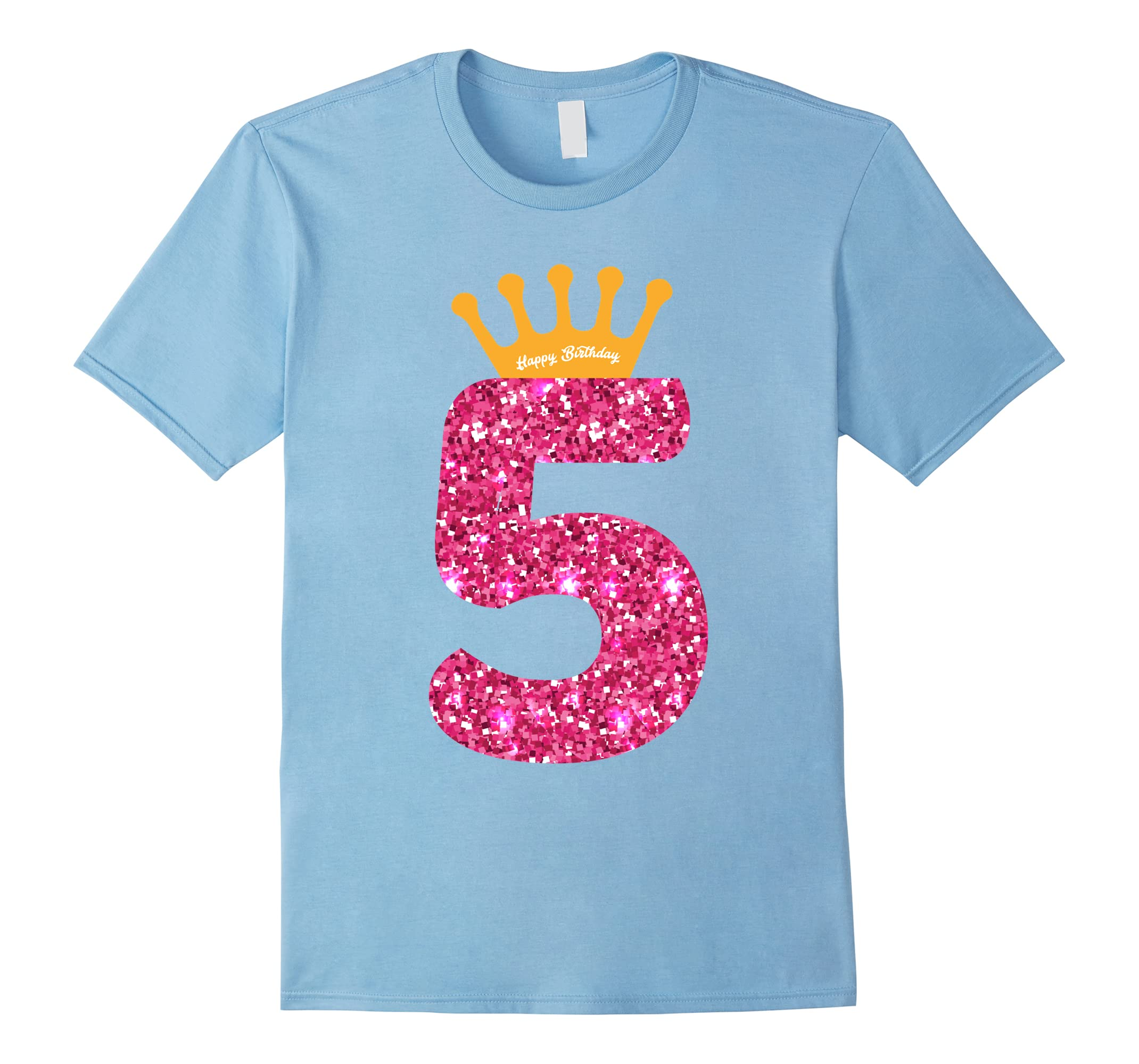 Happy Birthday Shirt Girls 5th Party 5 Years Old Bday Ah My One Gift