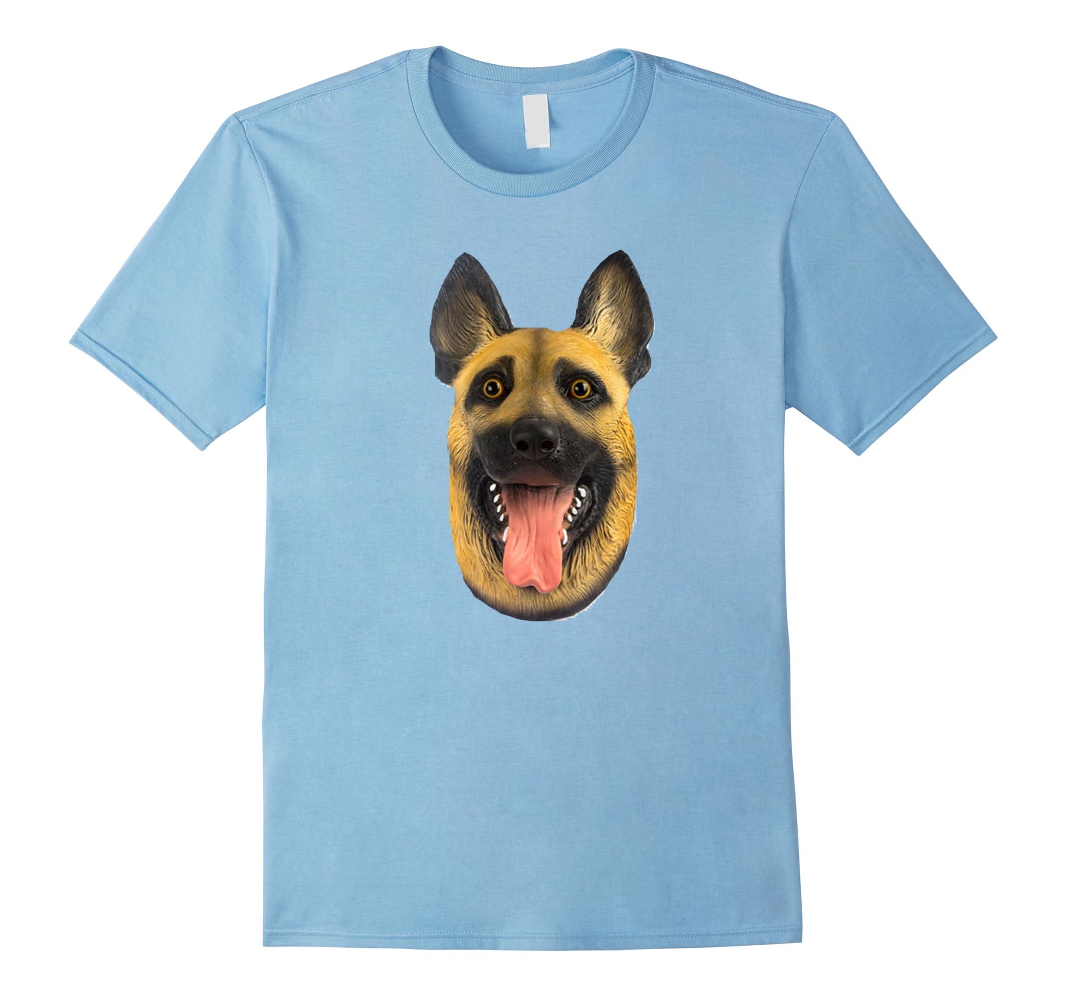 Creepy Dog Head T Shirt-ah my shirt one gift