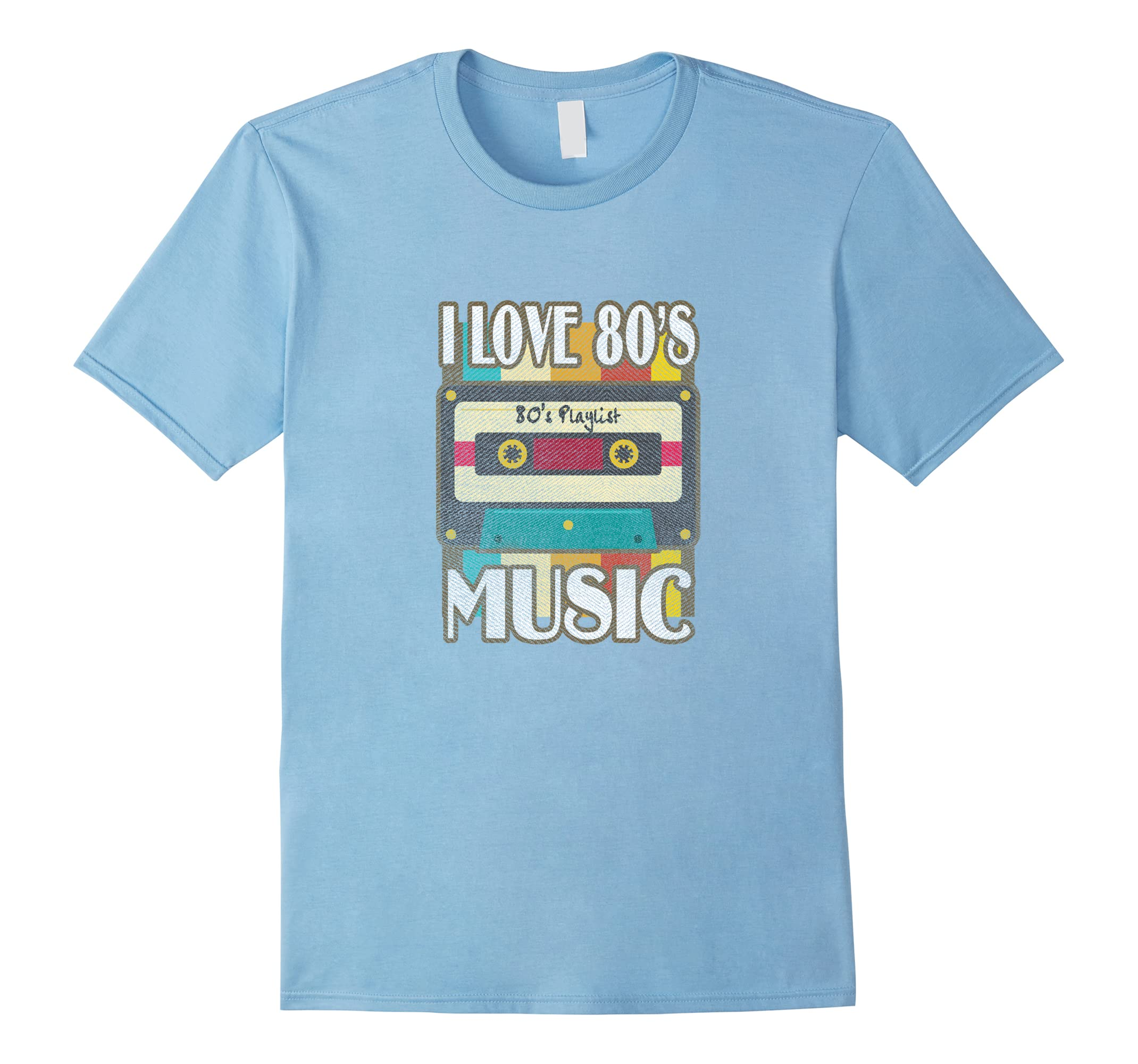 1980s Shirt - I Love 80's Music T Shirt - Texture Effect-ah my shirt one gift