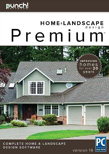 Punch! Home & Landscape Design Premium v19 - Home Design Software for Windows PC [Download]