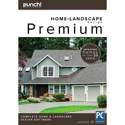 Home & Landscape Design Premium v19 - Home Design Software for Windows PC [ - Landscape Design Software: Amazon.com