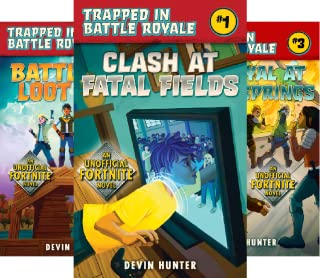 Trapped In Battle Royale (3 Book Series)