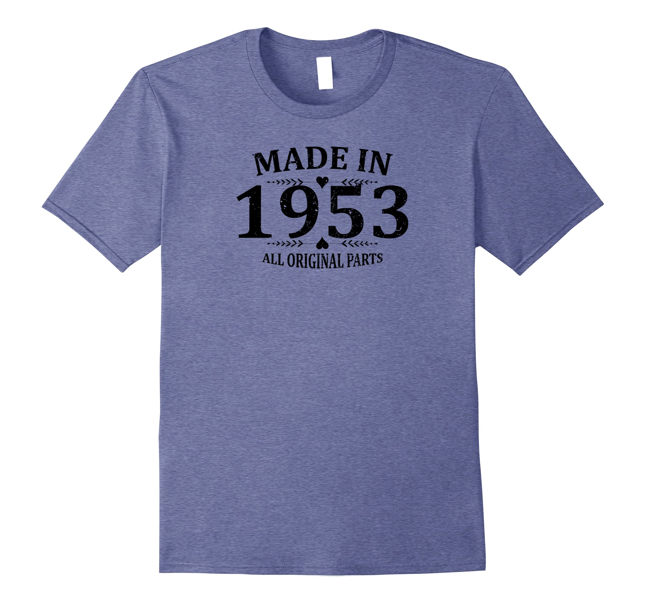 38584369 Best Vintage 1953 65th Birthday Gift Funny T-shirt Cute Tee-RT ...