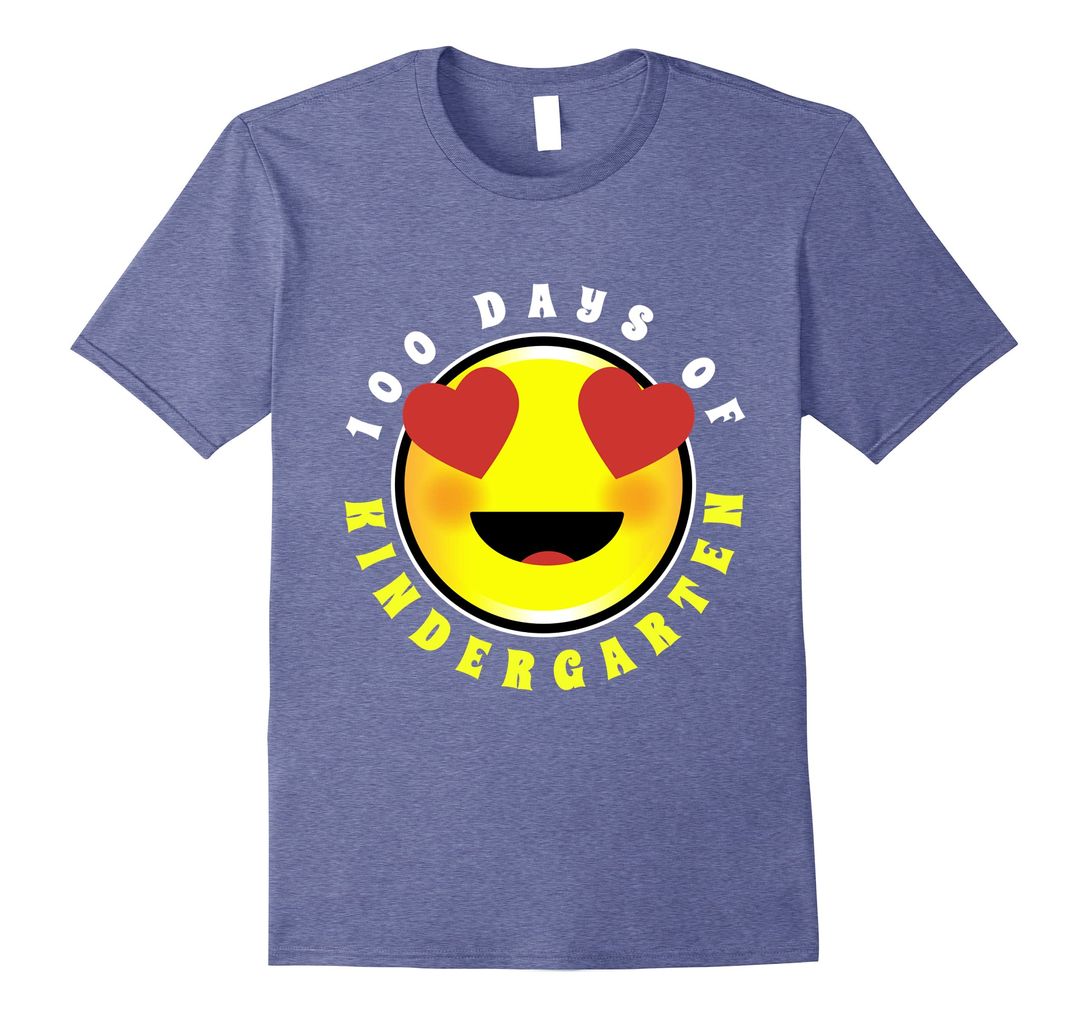 100 Days Kindergarten Student Shirt Teacher Graphic Tee-RT