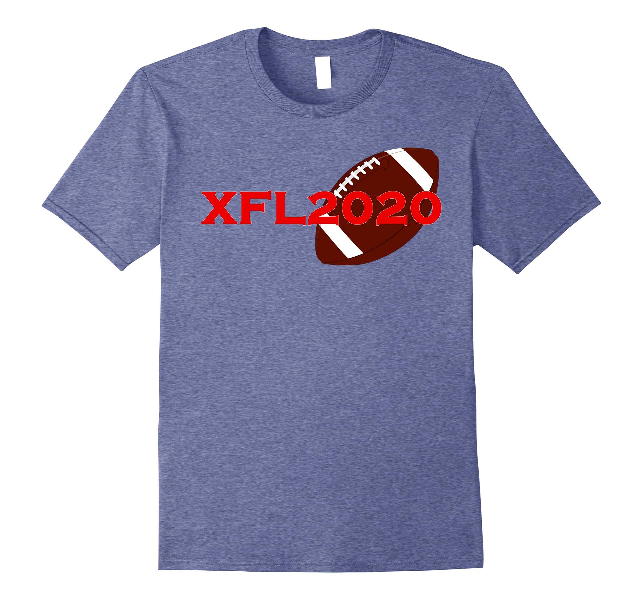 XFL2020 American Football Tshirt-RT