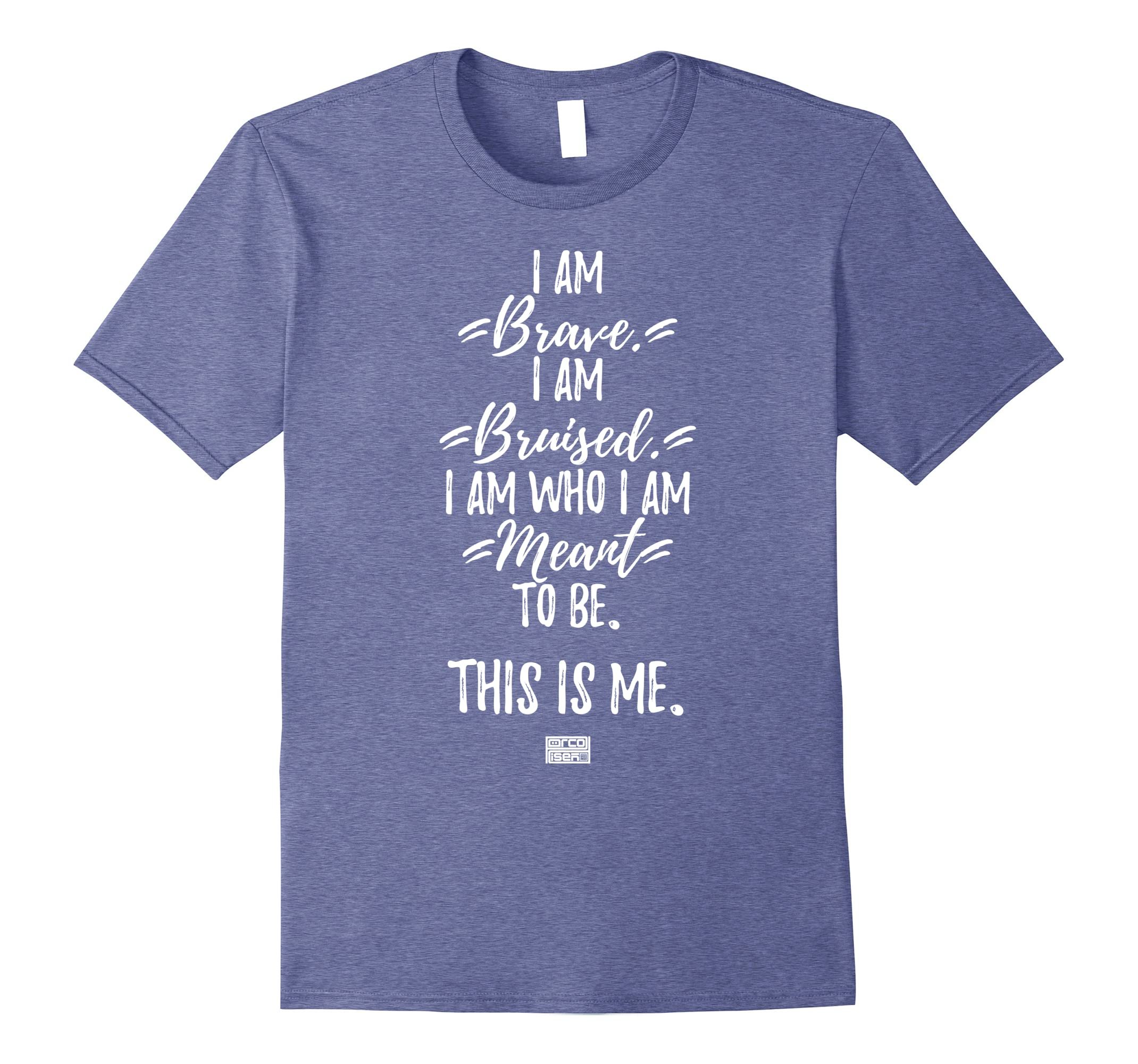 Brave This is Me Proud Musical Theatre Performer T-shirt-RT
