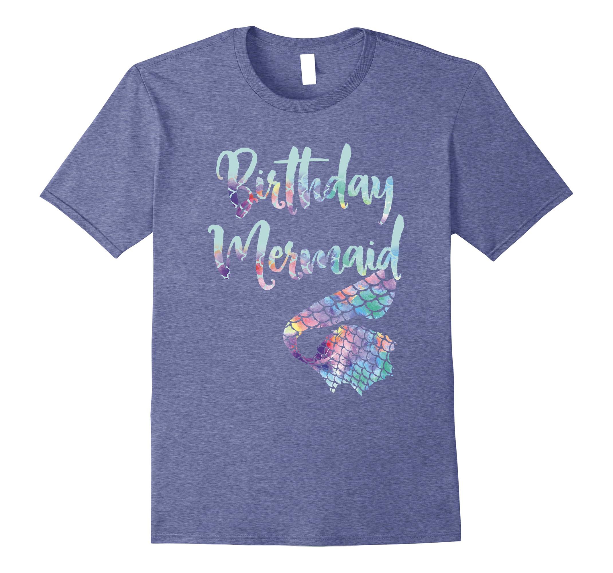Birthday Mermaid Shirt RT