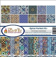 Ella & Viv by Reminisce Spice Market Scrapbook Collection Kit