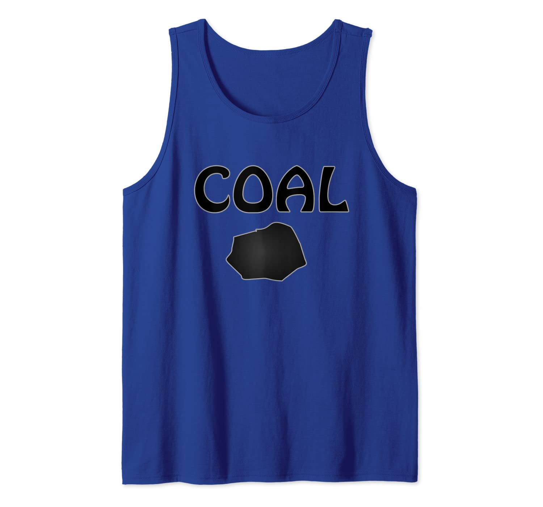 Amazon Com Funny Prank Christmas Coal Tank Top Clothing