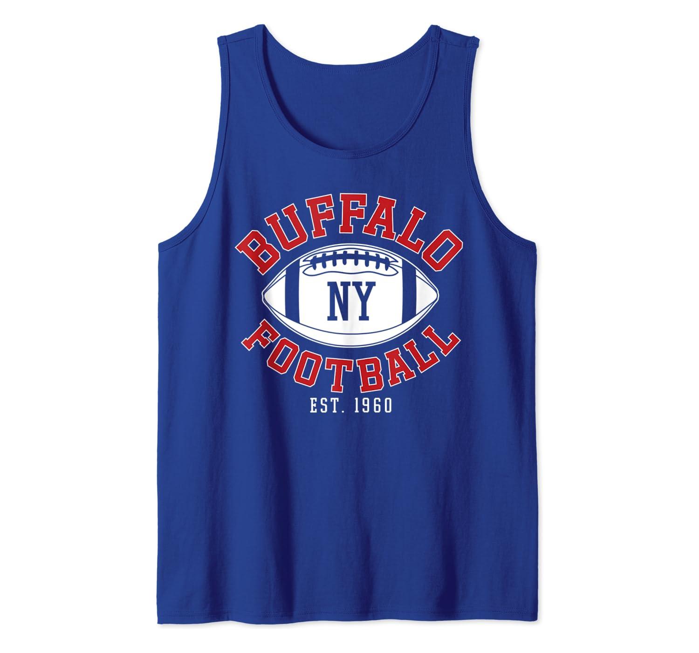 Vintage New York NY Sports Gift Tank Top Buffalo Football