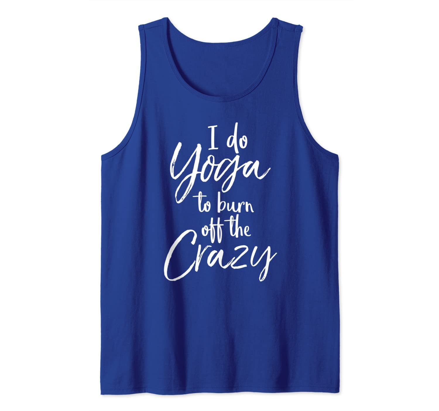 Amazon.com: Funny Yoga Quote for Women I Do Yoga to Burn off ...