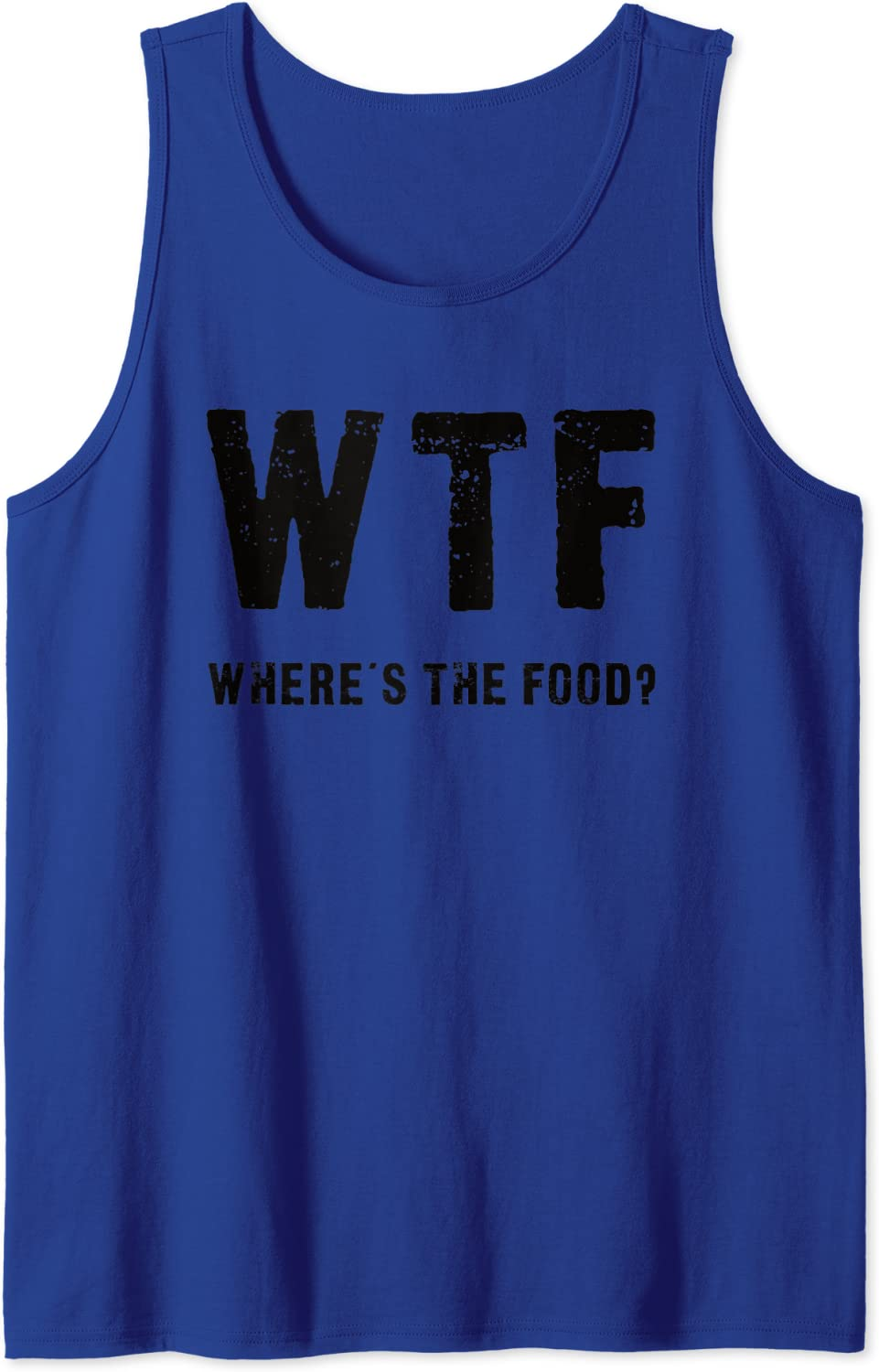Funny WTF - Where's The Food Tank Top