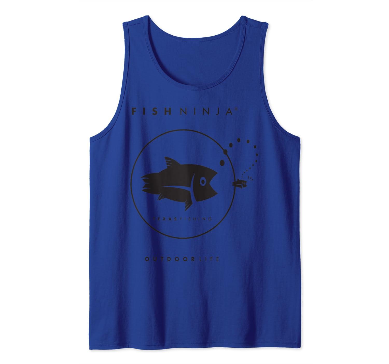 Fish Ninja Cool Fishing Shirt Tank Top