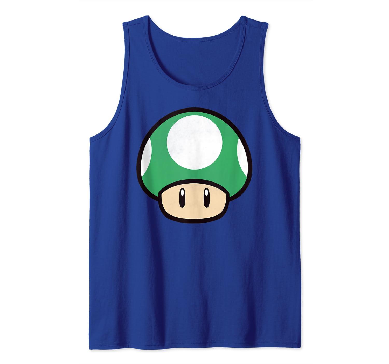 Amazon Com Nintendo Super Mario Big 1 Up Mushroom Tank Top