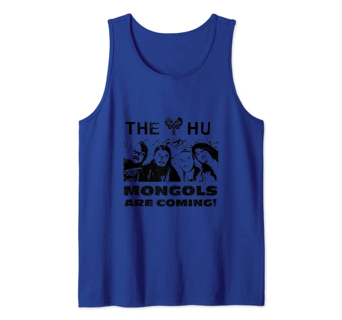 Amazon com: The Mongols Are Coming! Cool Tank Top: Clothing