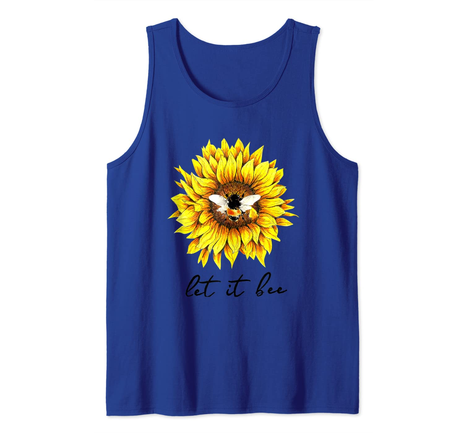 Let It Bee Sunflower Gift For Shirts