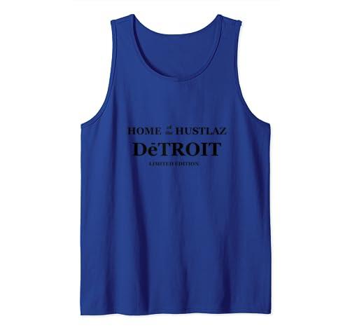 "Home Of The Hustlaz |  Motor City Pride ""Detroit"" Tank Top"