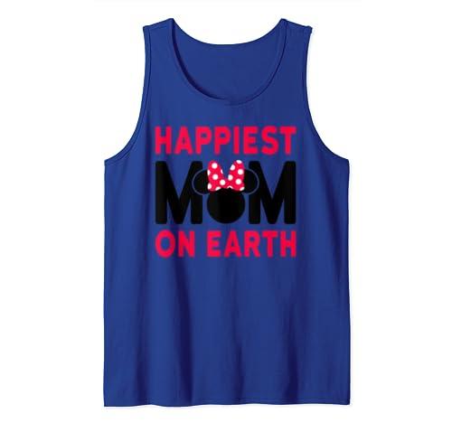 Disney Mother's Day Happiest Mom Tank Top