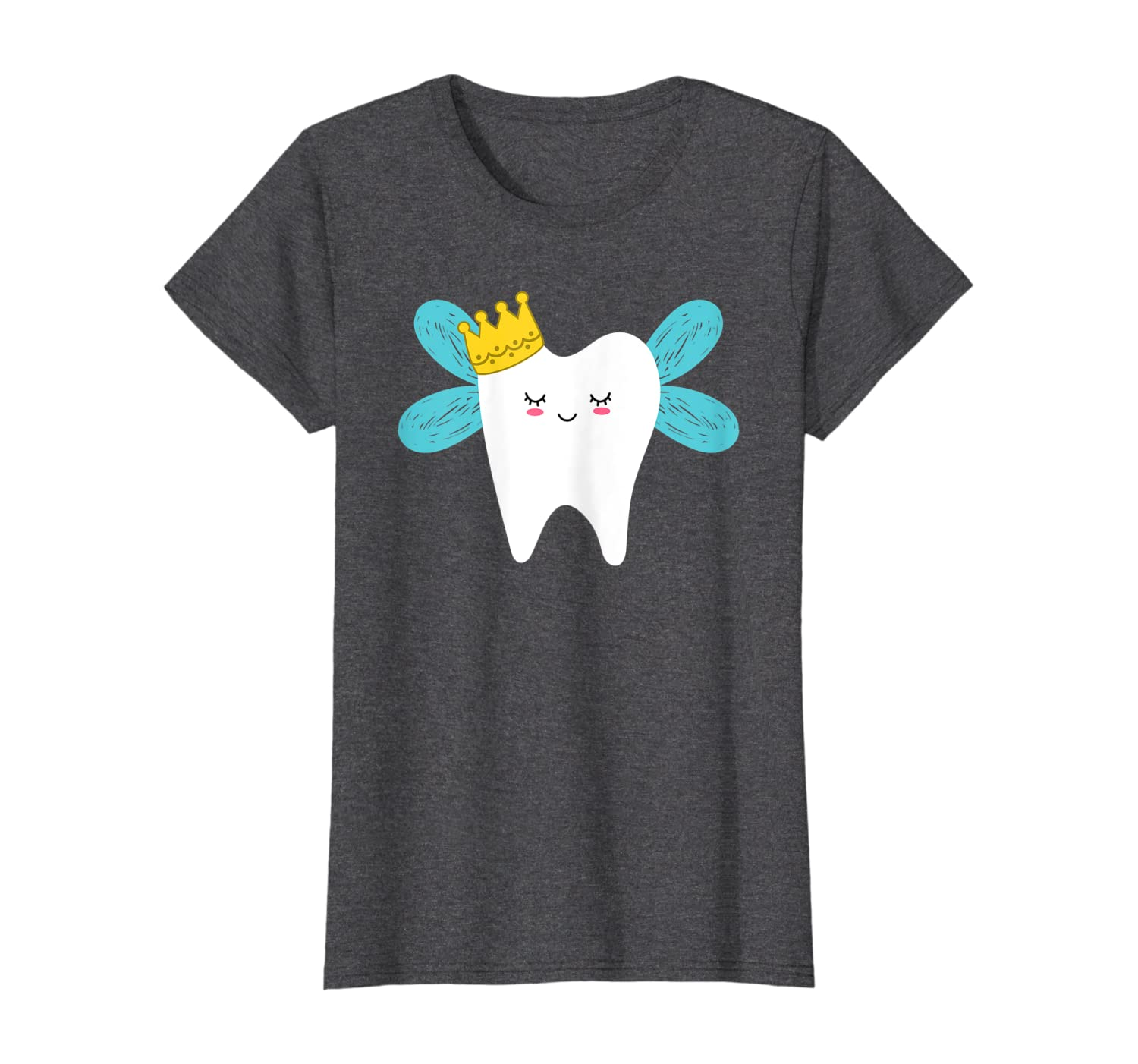 Amazon Com Cute Tooth Fairy Cartoon Drawing Halloween Costume T Shirt Clothing