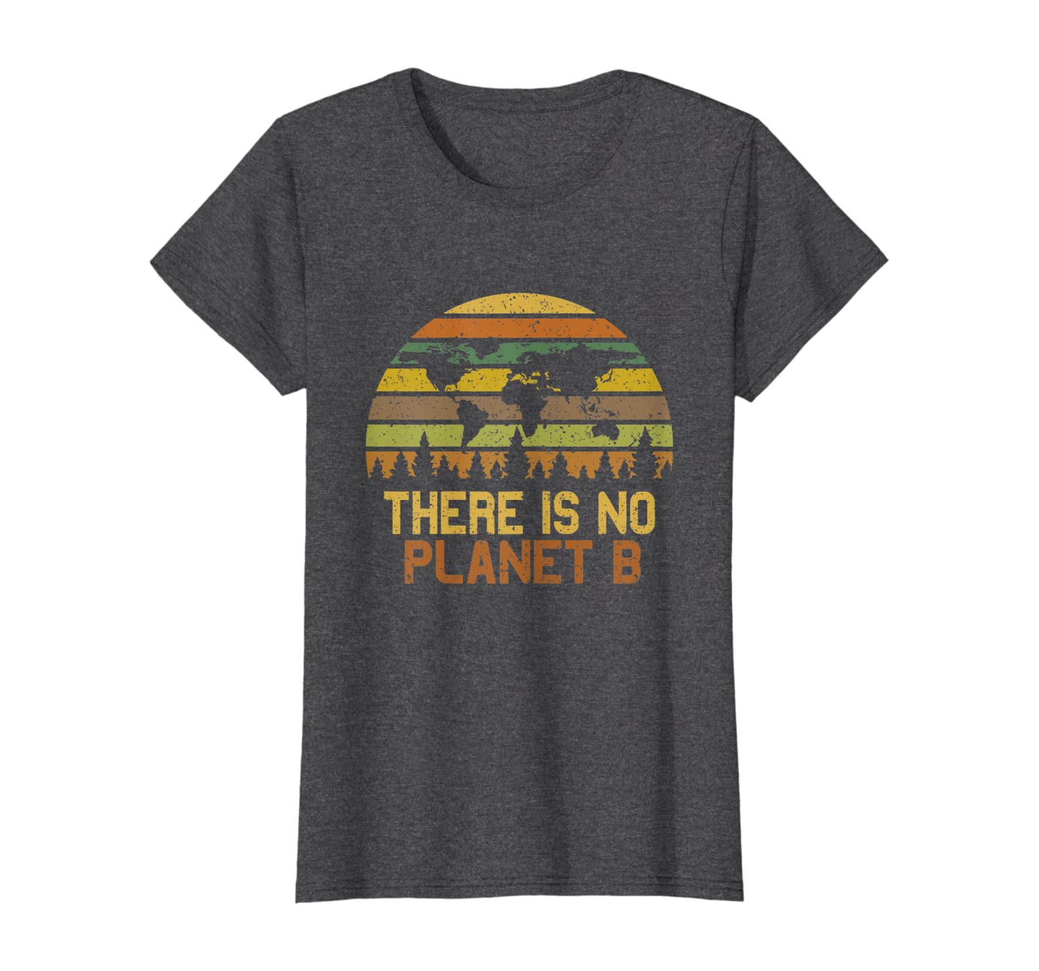 There Is No Planet B T-Shirt Earth Day Vintage T-Shirt