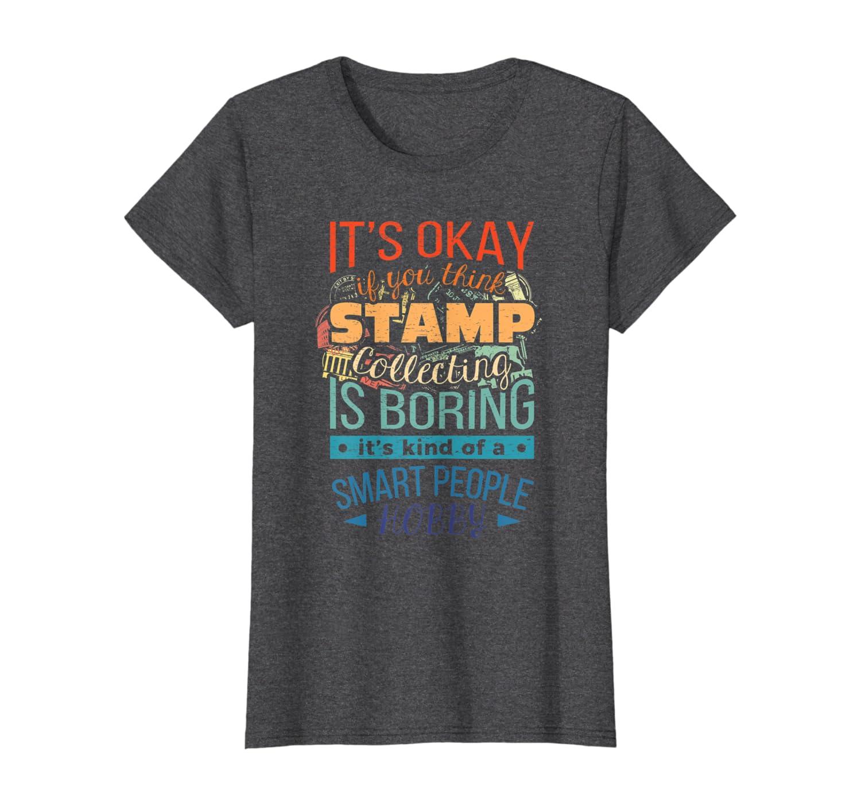 Recogida de sellos sarc/ásticos Sellos coleccionista Hobby Camiseta