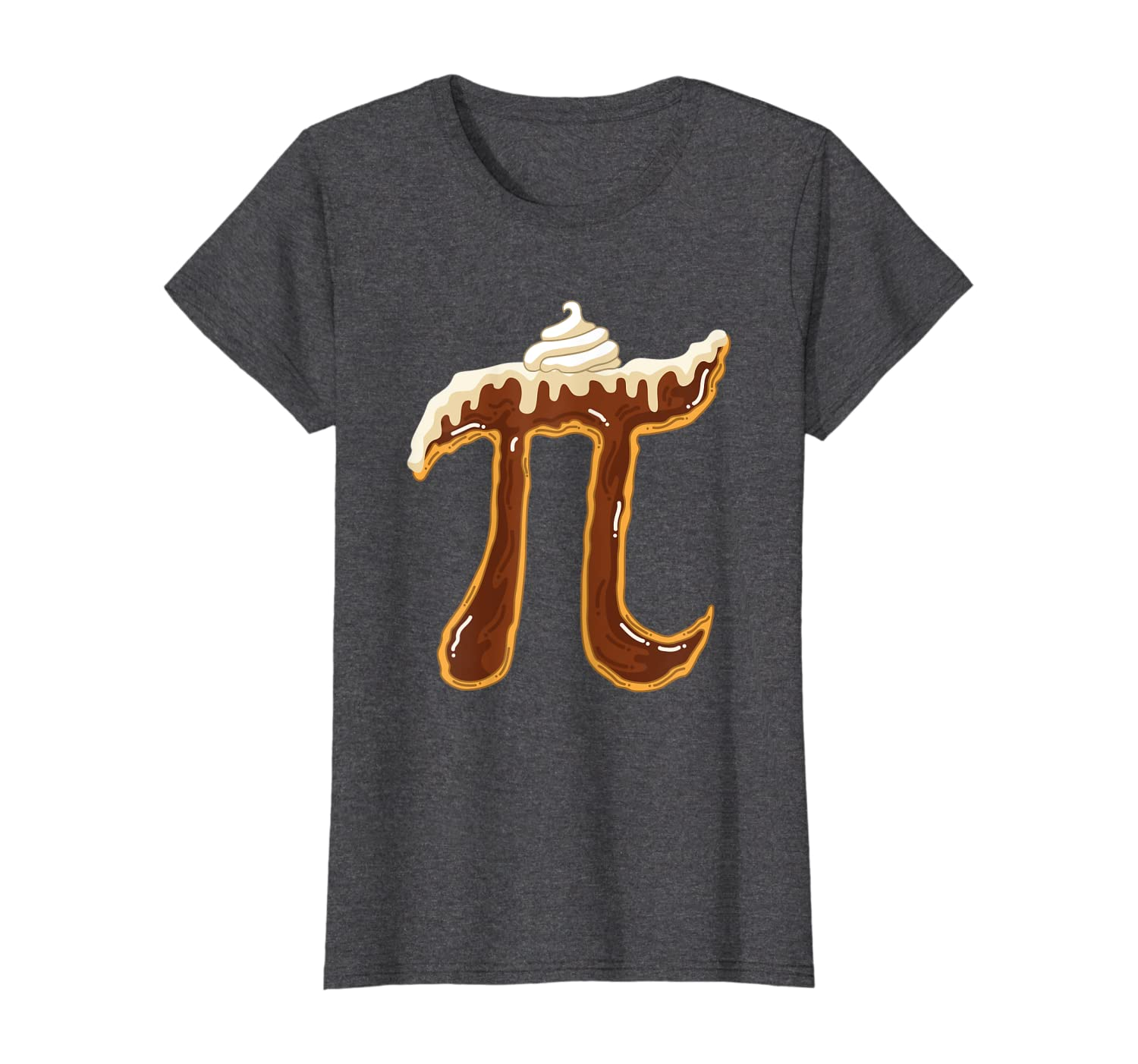 Funny Chocolate Cream Pie Shirt Pi Day Math Lover Foodie Pun T-Shirt