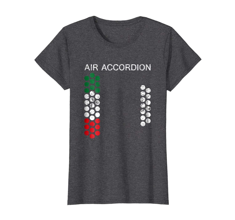 Air Accordion Music Instrument Shirt 44  Italy Artist Tee