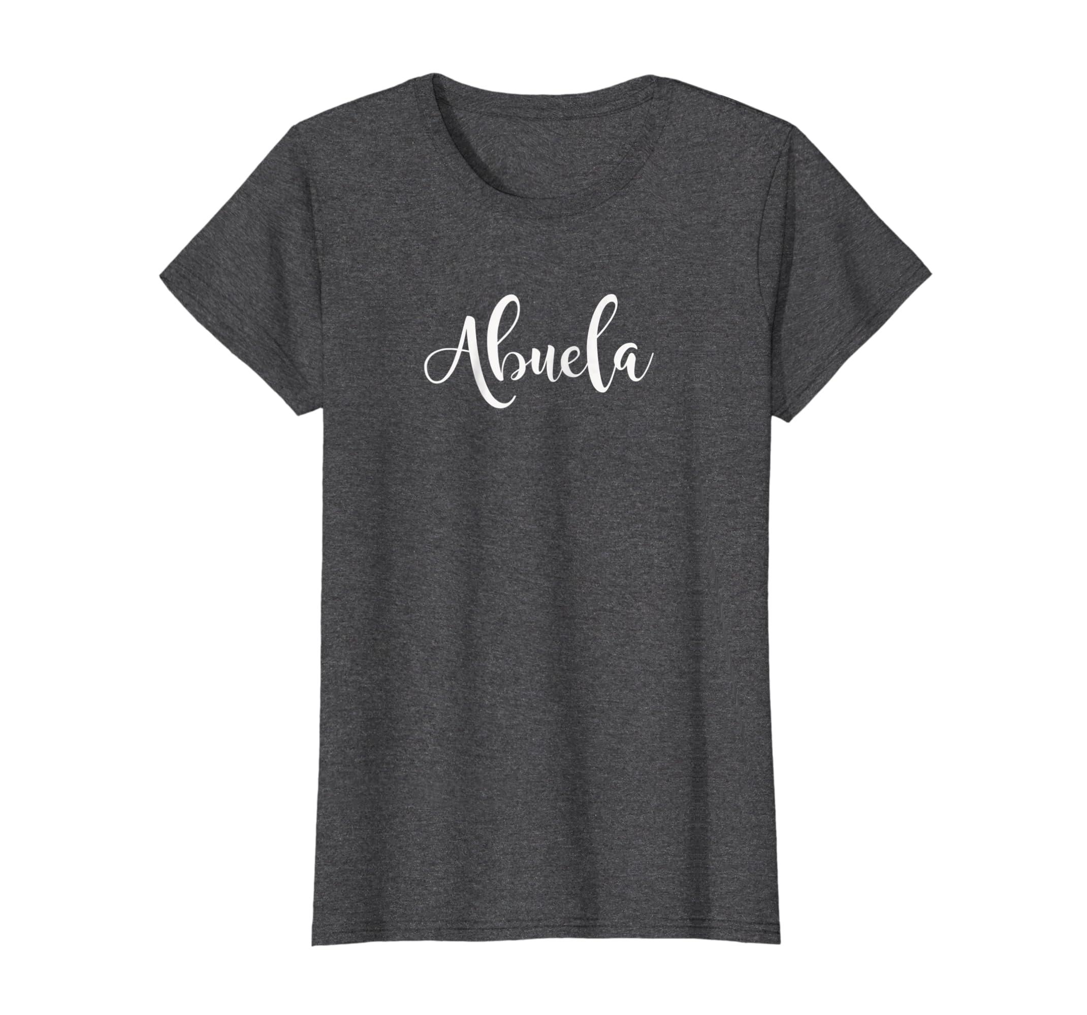 Amazon.com: Womens Pretty Hispanic Abuela Grandma Regalo de ...