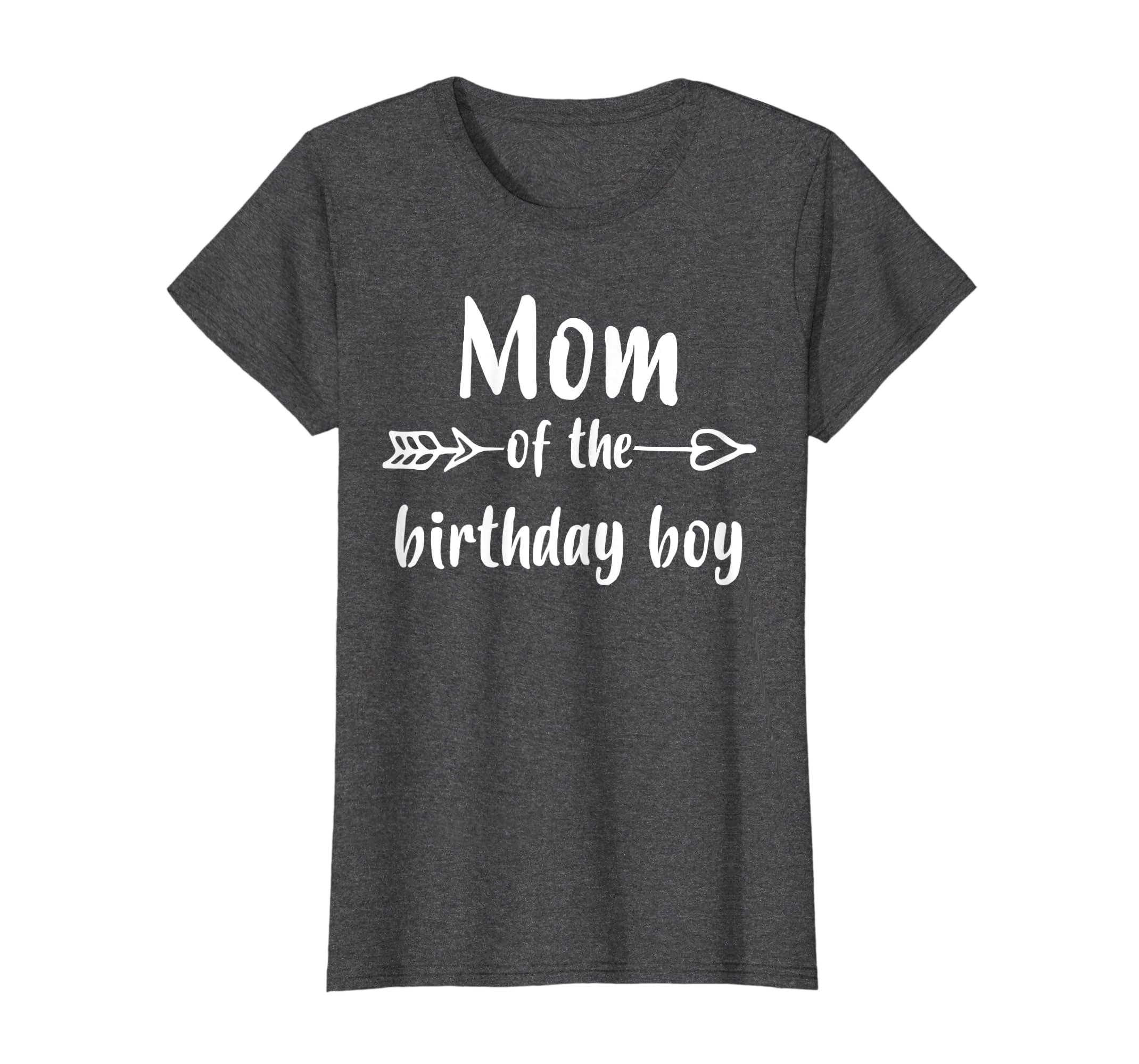 Amazon Womens Birthday Boy Mom Shirt Clothing