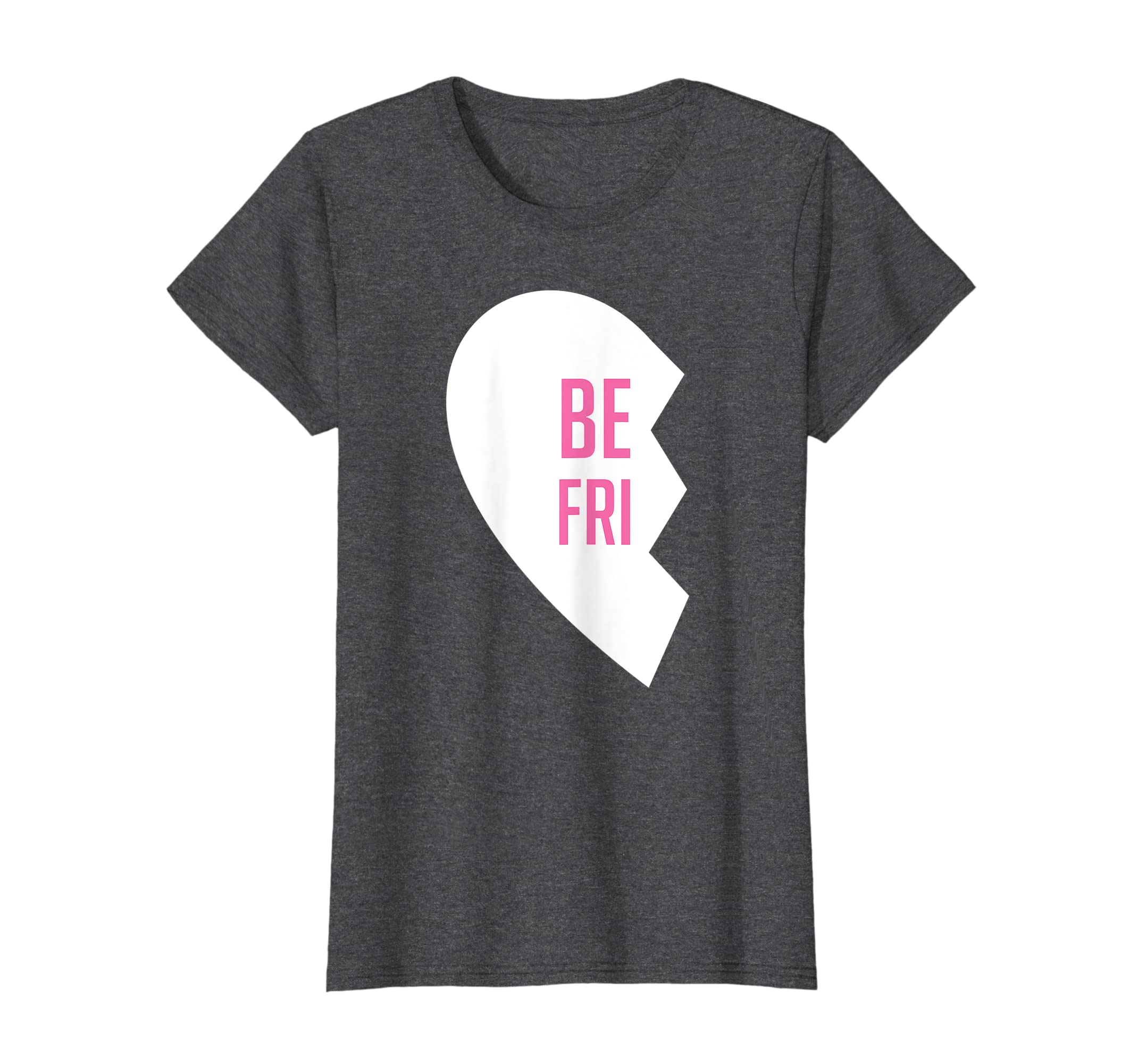 a68c59c91b946 ... com hearts best friend t shirts matching bff outfits tees ...