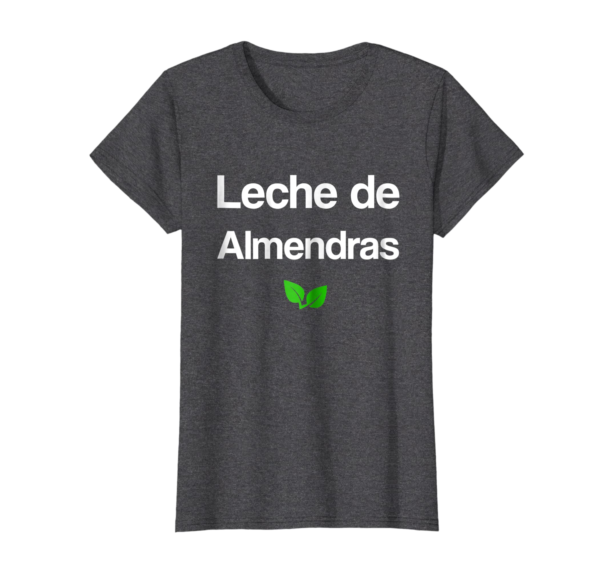 Amazon.com: Leche de Almendras Camiseta con frases Veganos Vegetarianos: Clothing
