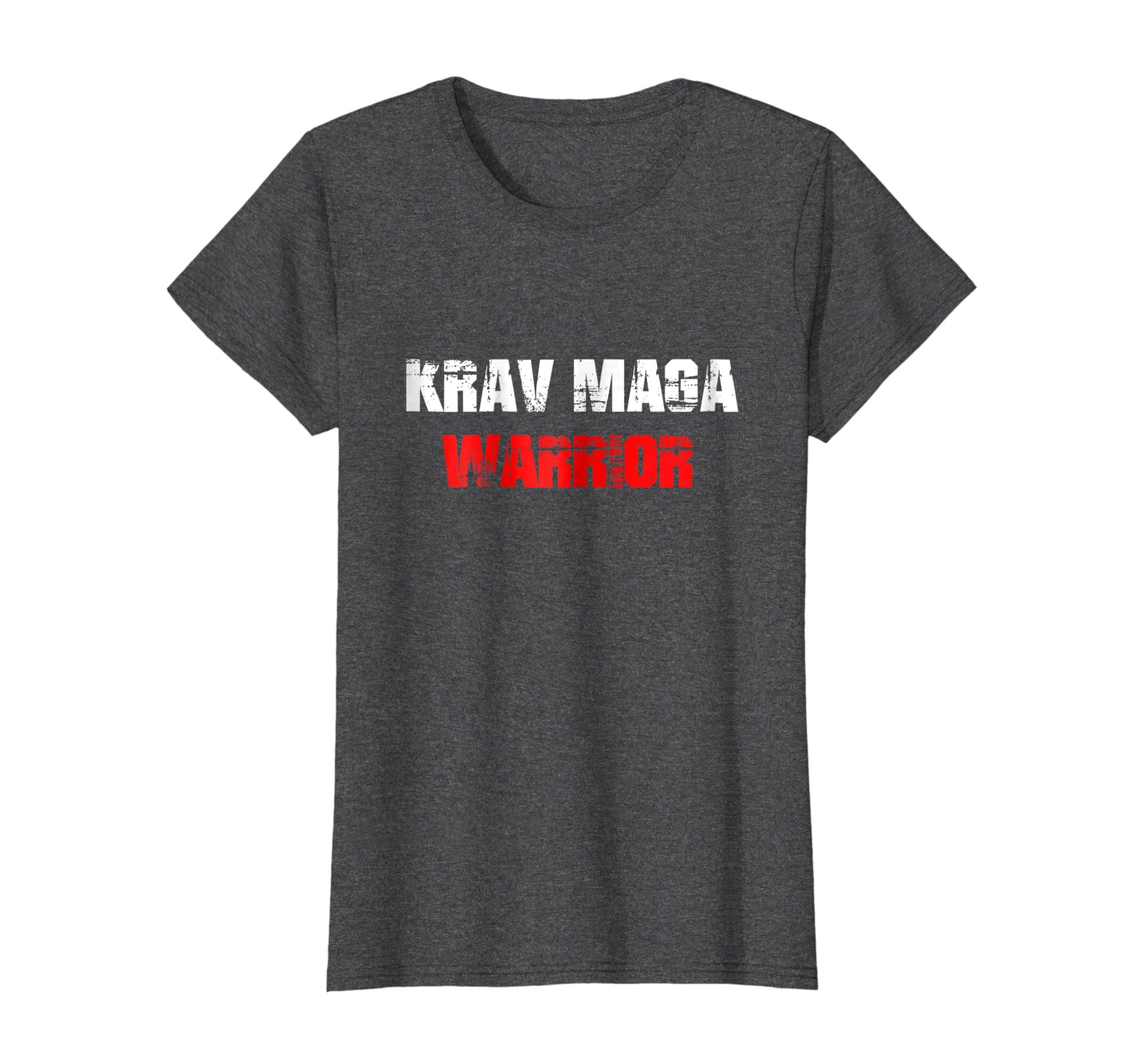Krav Maga Warrior Shirt Israeli Combat Self Defense Fighting-Awarplus