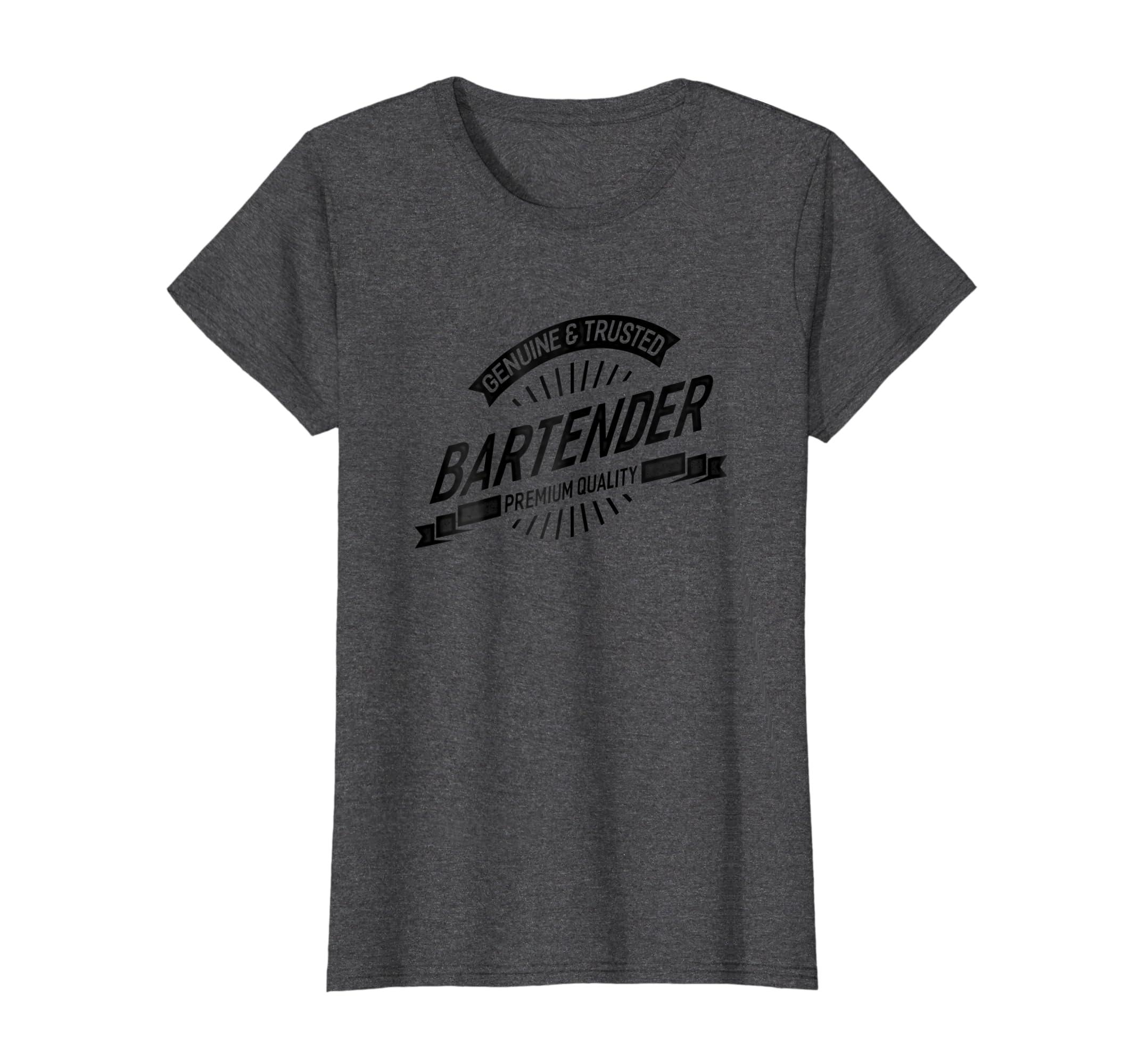 08094242b Amazon.com: Genuine Trusted Bartender Shirt For Women Men Gift T-shirt:  Clothing