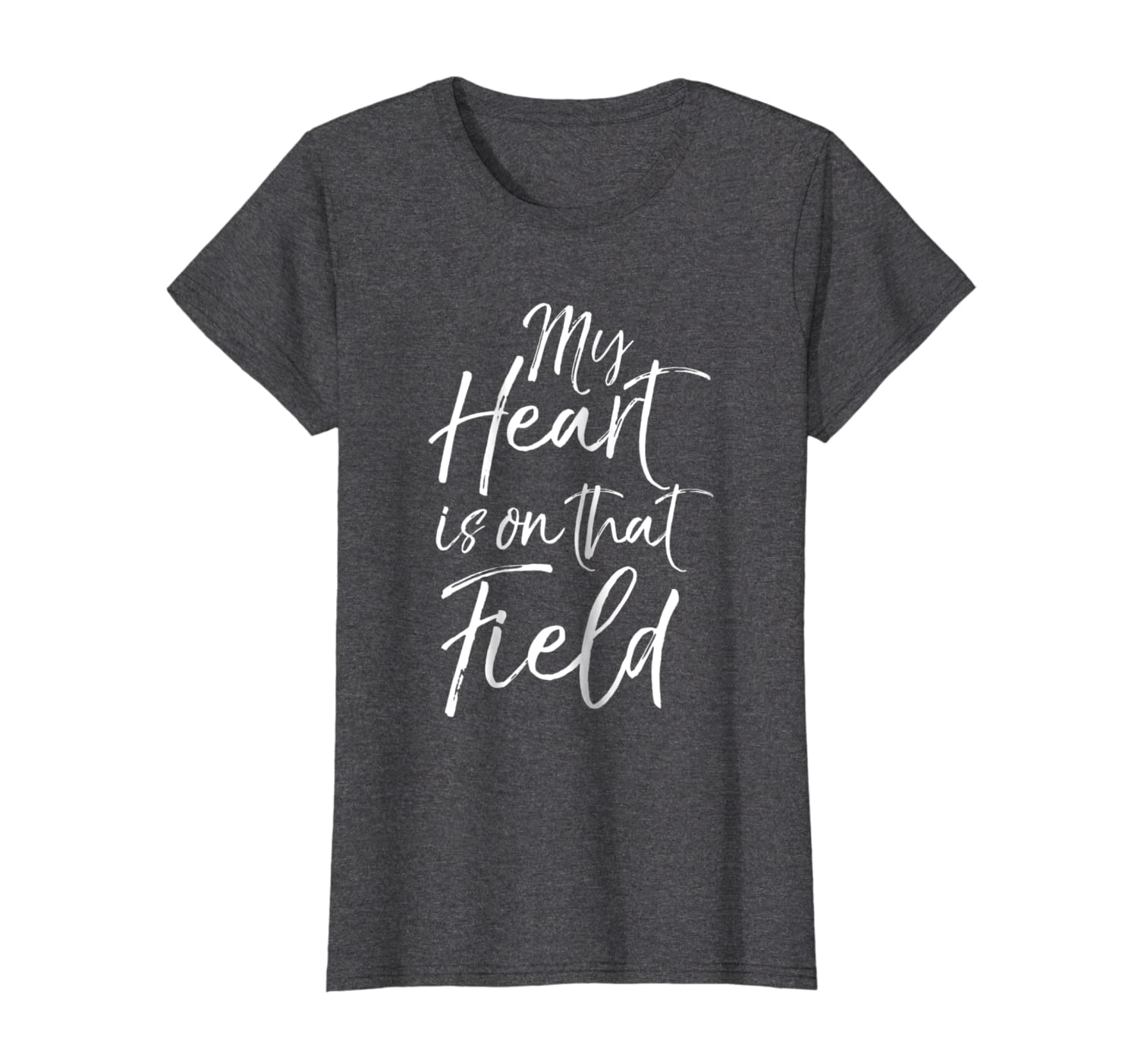 My Heart is on that Field Shirt Proud Mom /& Dad Soccer Tee