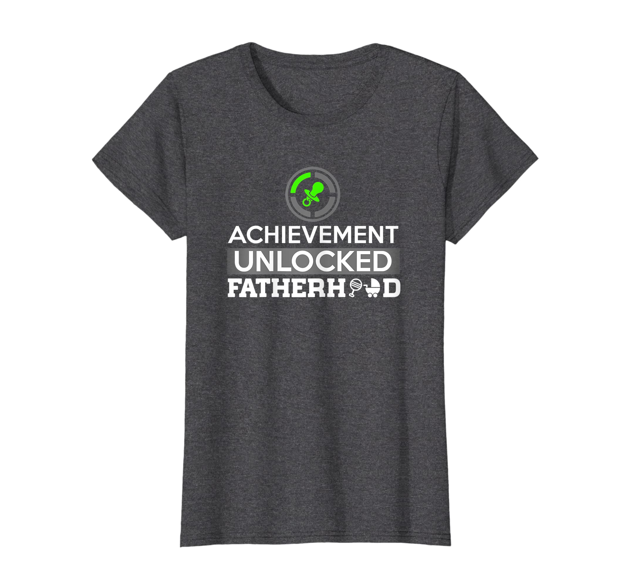 2e1b7811878 Amazon.com  First Time Dad - Dad To Be - First Father s Day Gift Shirt   Clothing