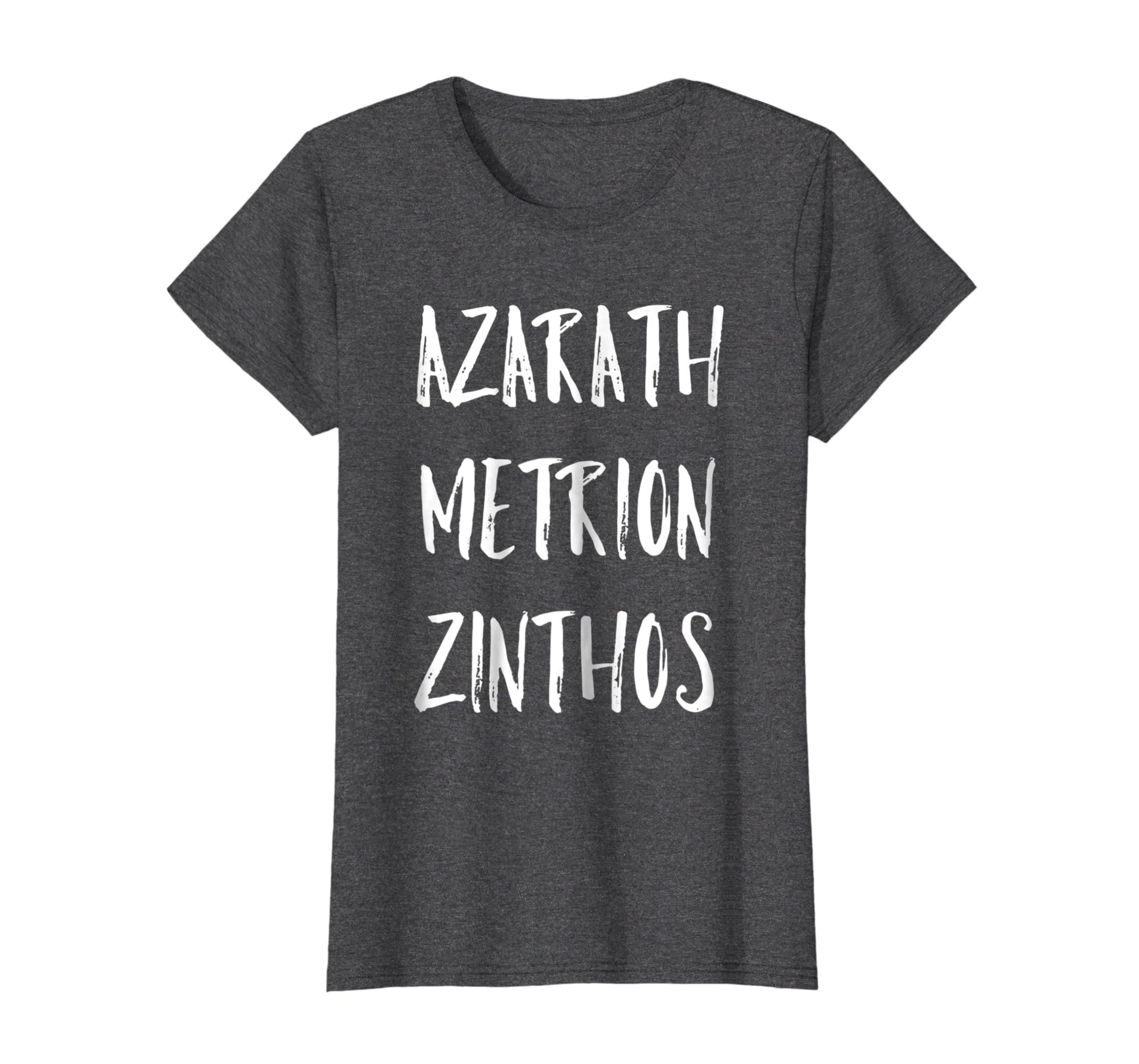 Aza rath T Shirt Metrion For Mens Kids Womens
