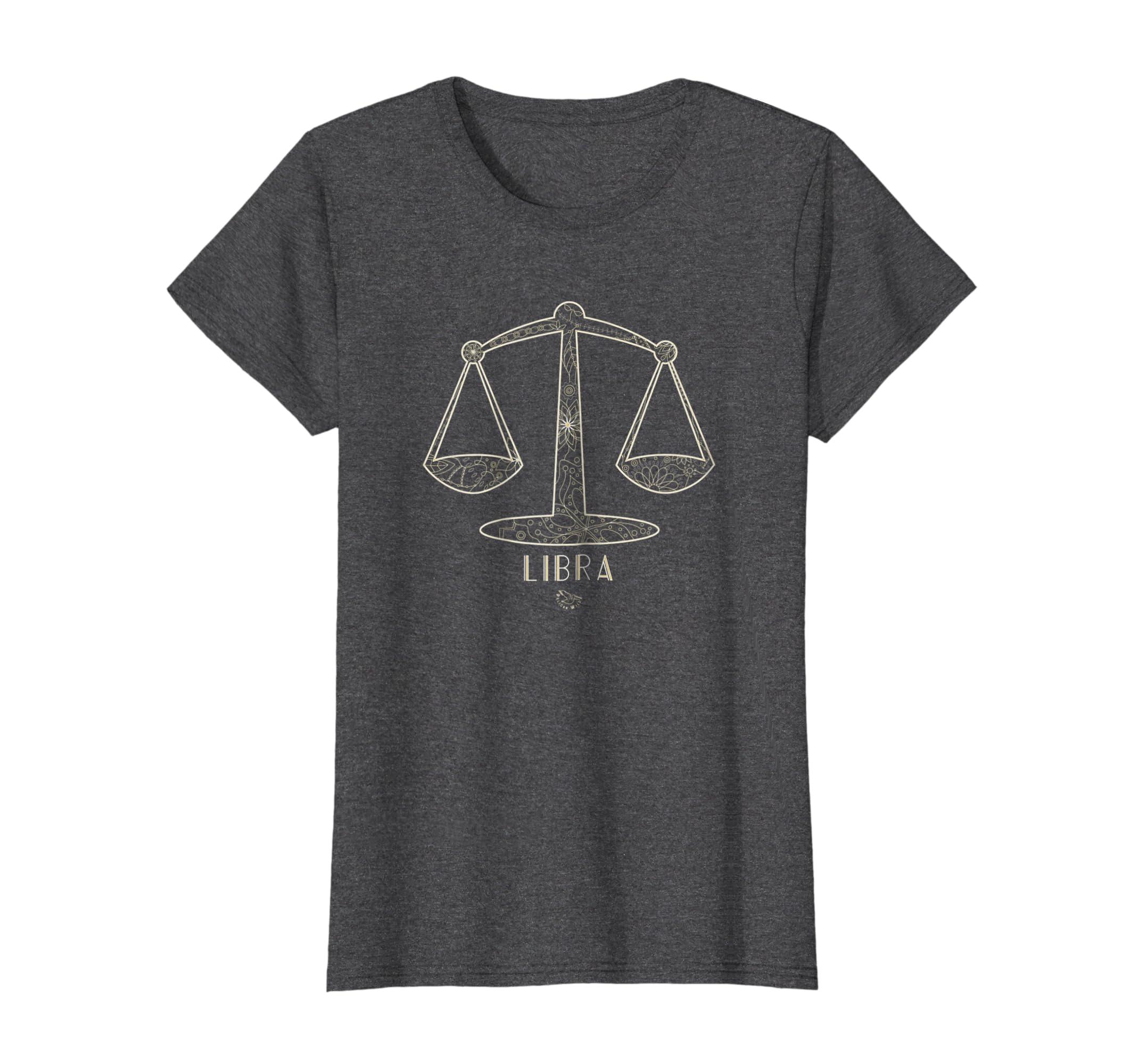 Amazon Libra Zodiac T Shirt Libra Symbol Shirt Horoscope Gift