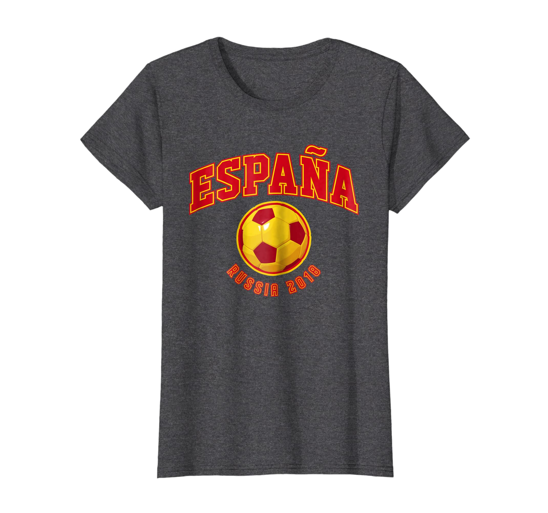 Amazon.com: Camiseta Futbol Espana 2018 World Soccer Team Cup Shirt: Clothing
