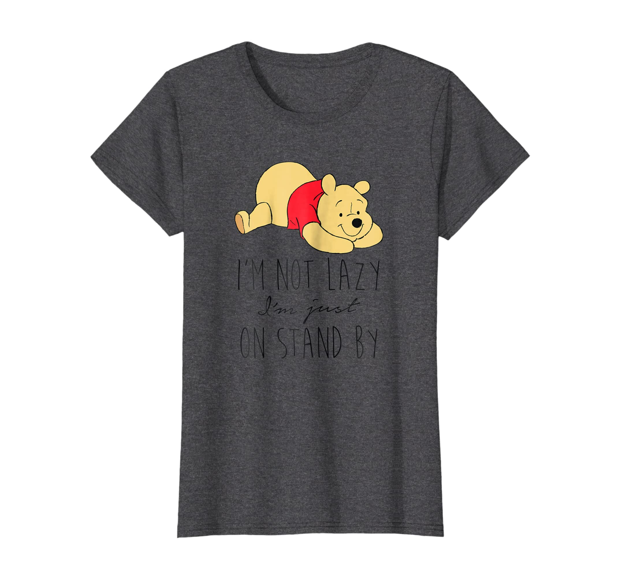 01e3b14e446d Amazon.com  Disney Lazy Winnie the Pooh T Shirt  Clothing