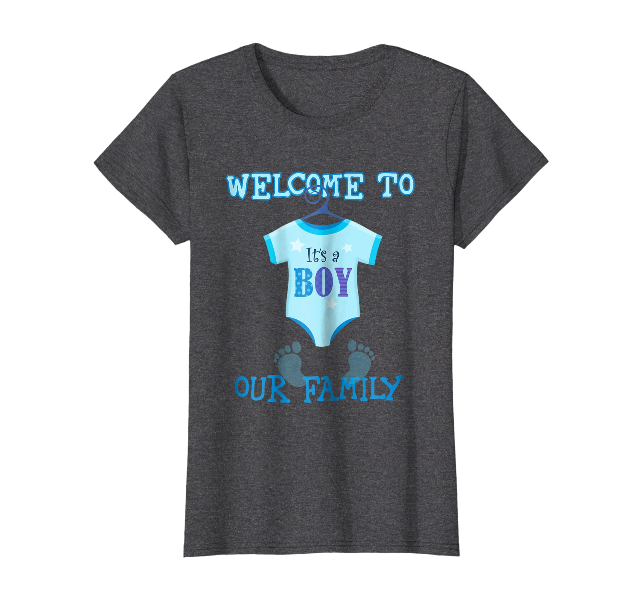 69fc4dceabb2d Amazon.com: It's A Boy t shirt,Baby Shower, party tshirt ,new baby shirt:  Clothing