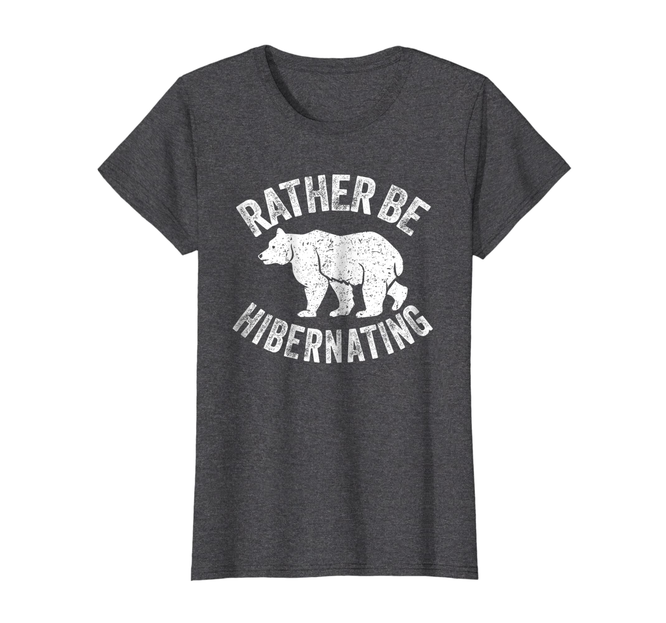Rather Be Hibernating Shirt: Love Sleeping Nap Bear T Shirt-4LVS