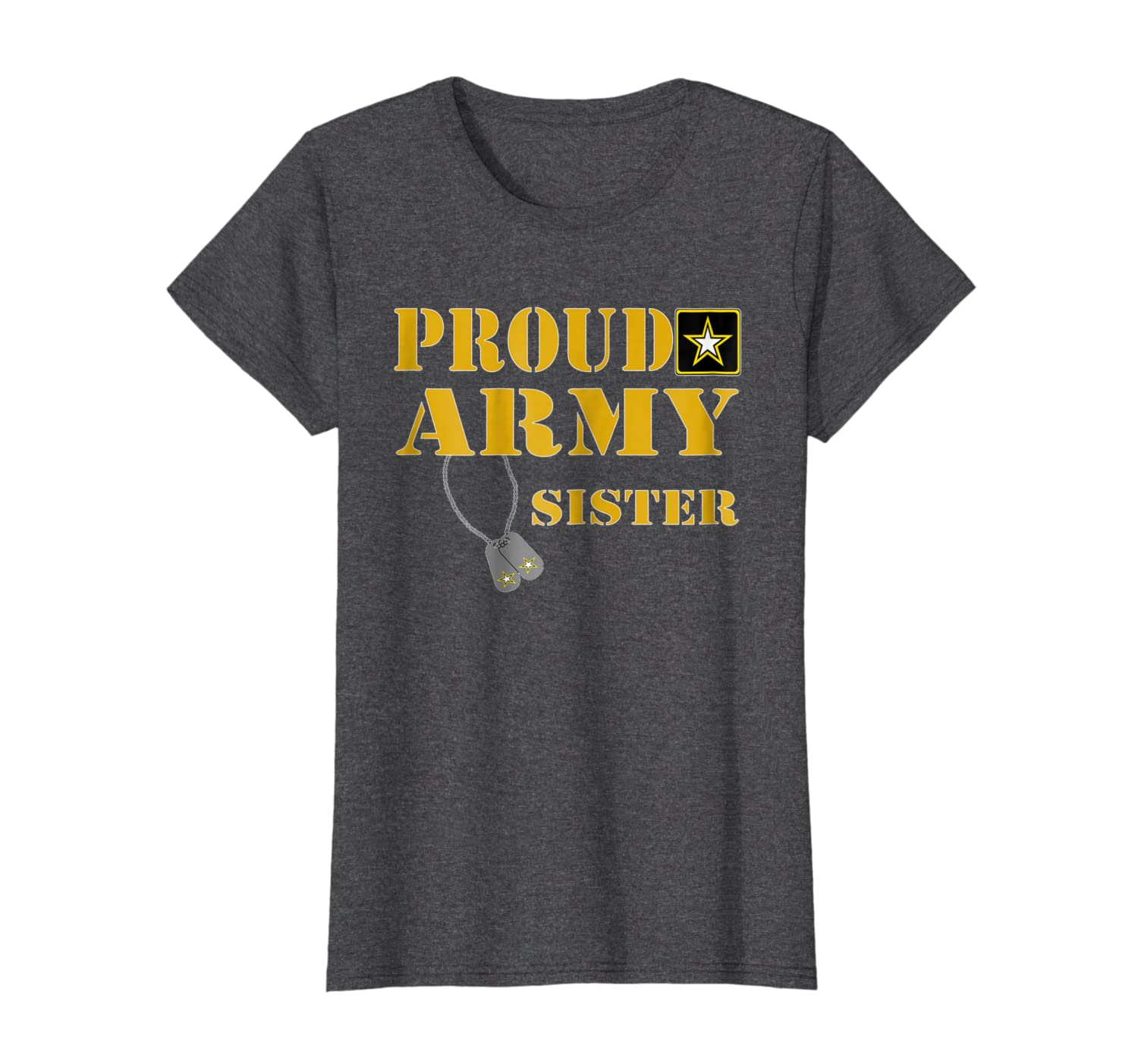 U.S. ARMY Proud US Army Sister Shirt Military Pride T-Shirt-Loveshirt