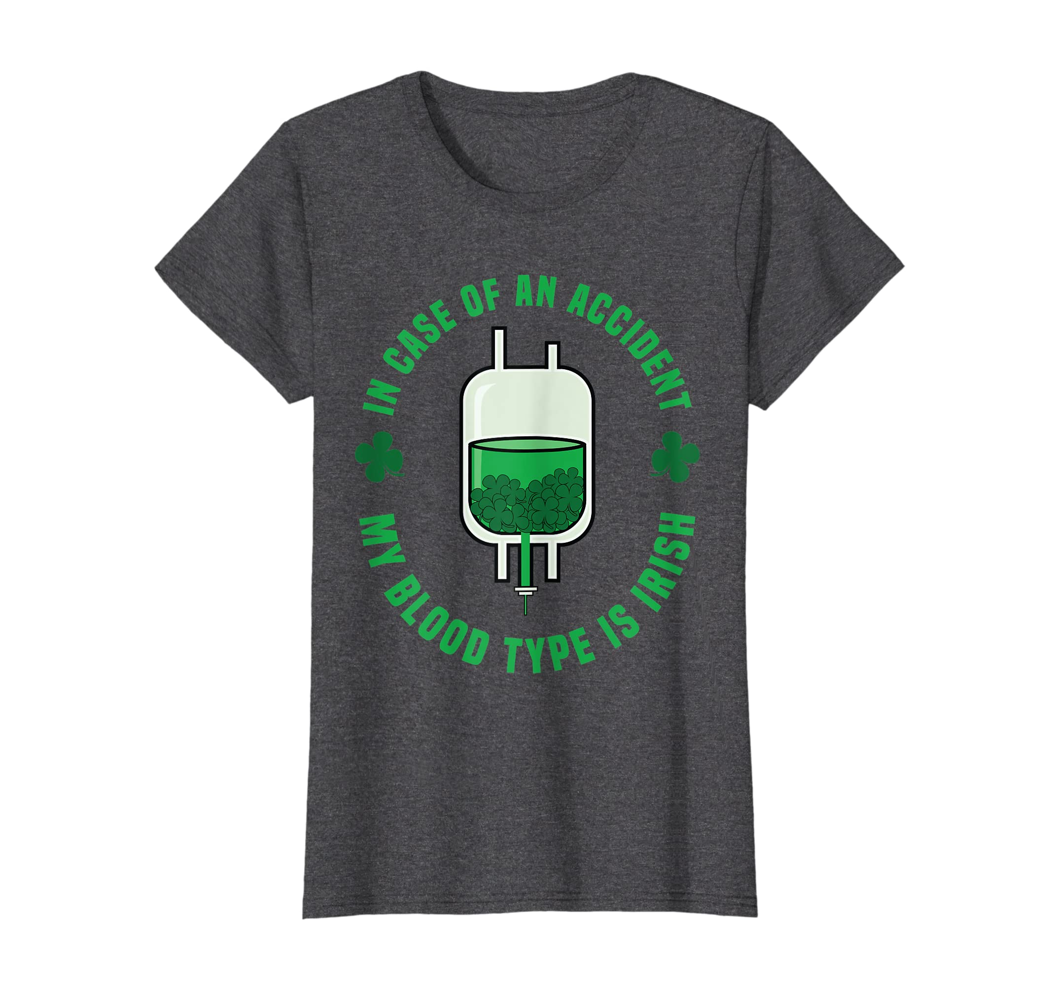 c746433a Amazon.com: St Patricks Day Tee Shirt - Irish Funny Blood Type Tshirt:  Clothing