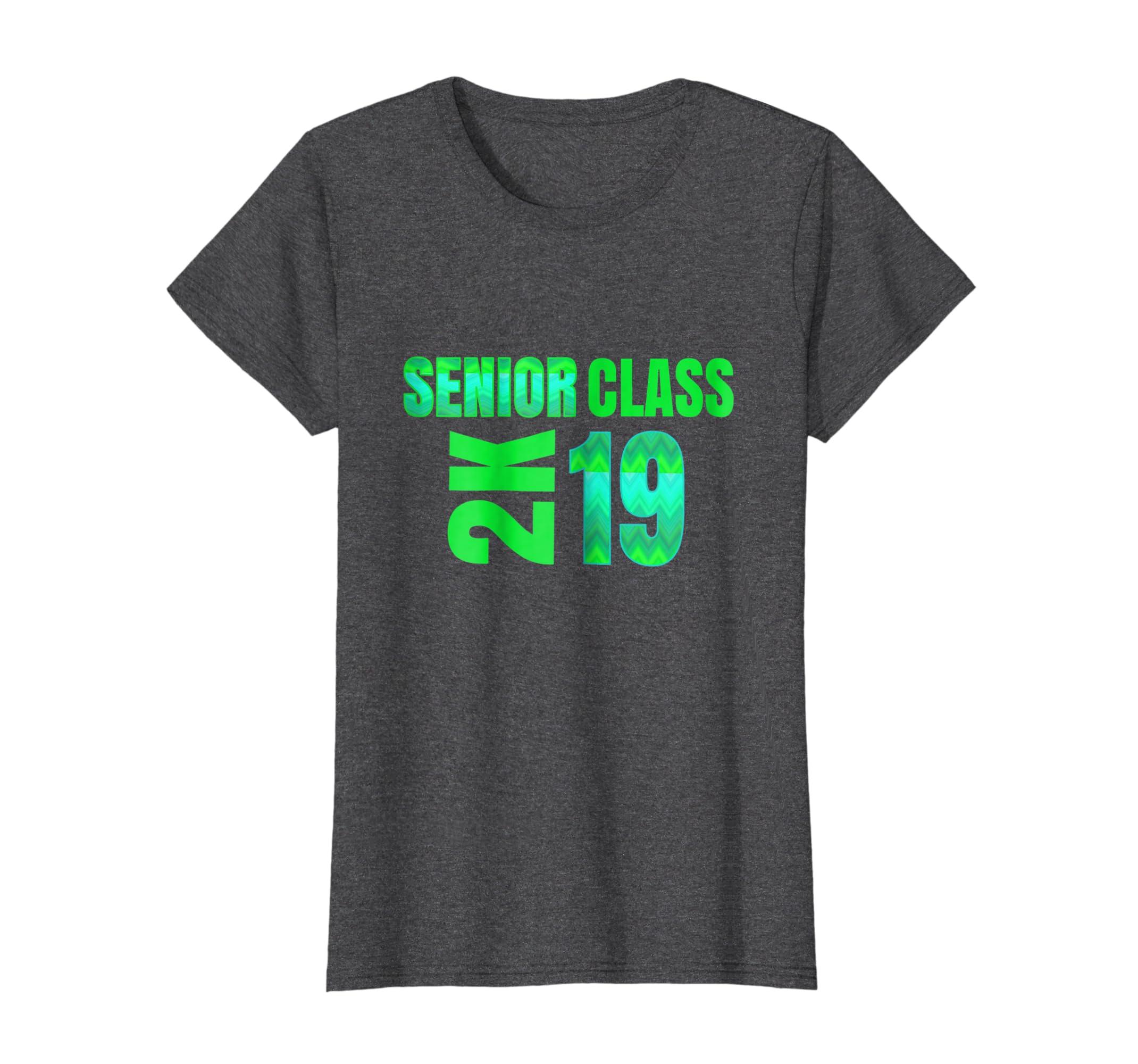 63d01a0b6642 Amazon.com  Senior 2019 Shirts Class Of 2K Cool Graphic Graduate Tee   Clothing